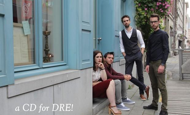 Visuel du projet a CD for DRE!