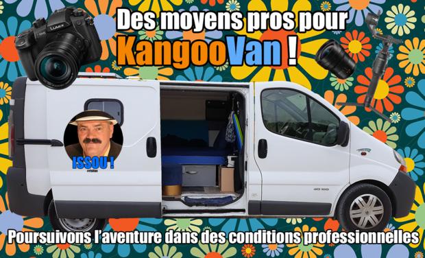 Visuel du projet Kangoovan : en route vers de nouvelles zaventures !