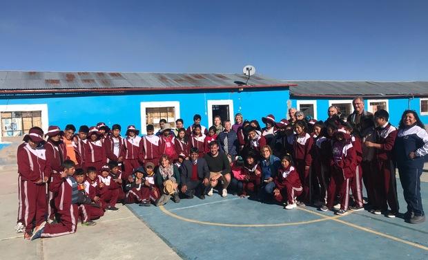 Visuel du projet Fournir du matériel à une école Péruvienne