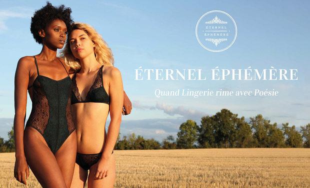 Visuel du projet ÉTERNEL ÉPHÉMÈRE - La lingerie poétique