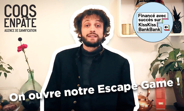Project visual Entrepôt 102 - Escape game - Paris