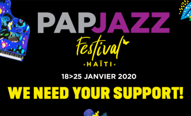 Project visual PAPJAZZ FESTIVAL HAITI 2020, 14th EDITION
