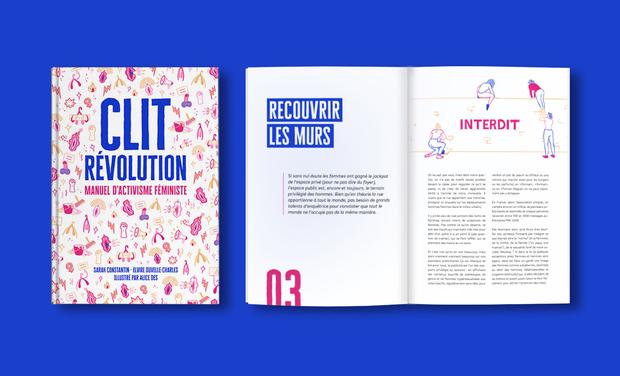 Visuel du projet Clit Révolution, manuel d'activisme féministe