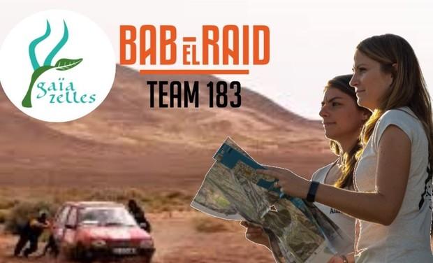 Visuel du projet Les Gaïazelles en route pour le Bab El Raid !