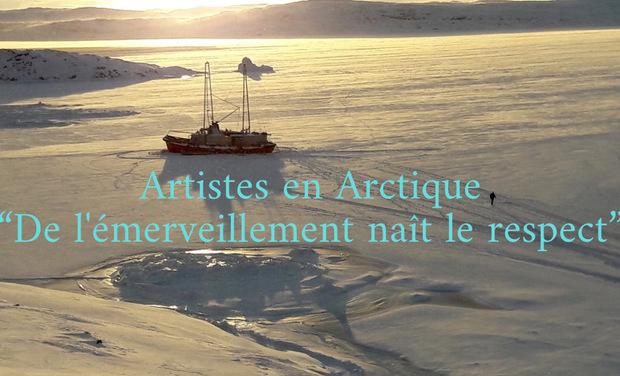 Visuel du projet Artistes en Arctique, de l'émerveillement naît le respect