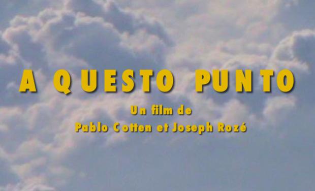 """Project visual """"A Questo Punto"""" court-métrage pour février 2020 !"""