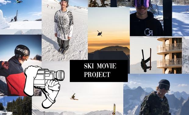 Visuel du projet Aidez-nous à réaliser notre film de ski à travers le monde