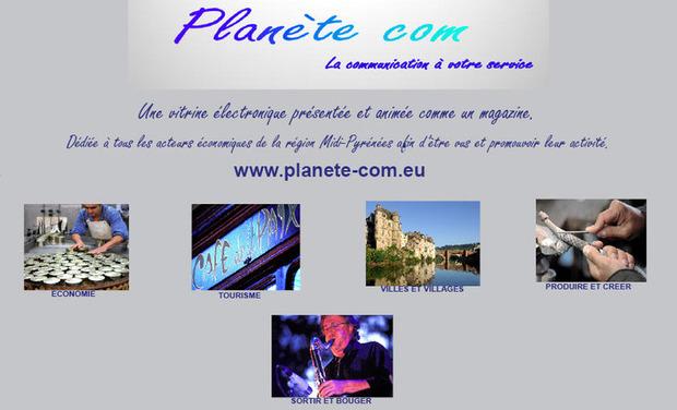 Visuel du projet PLANETE COM