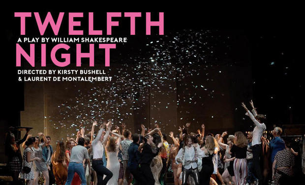 Project visual Twelfth Night in London -  January 2020