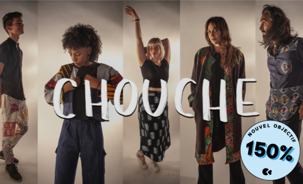 Project visual Chouche : une collection de vêtements mixtes, durables et personnalisables