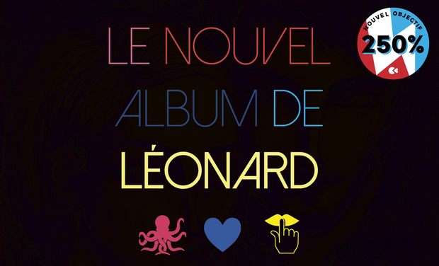 Project visual Léonard : l'album !