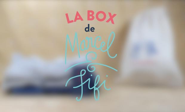 Project visual La Box de Marcel & Fifi