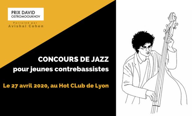 Project visual Prix David Ostromooukhov - Concours de jazz pour jeunes contrebassistes