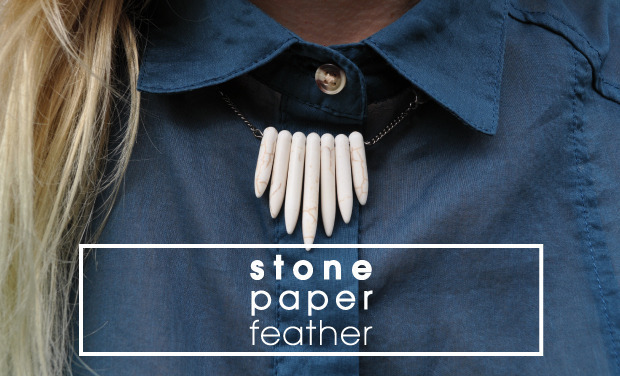 Project visual Stone Paper Feather