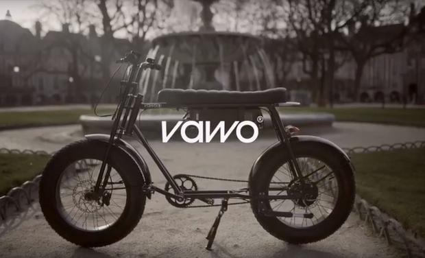 Project visual Vawo, fournisseur d'émotions sur deux-roues