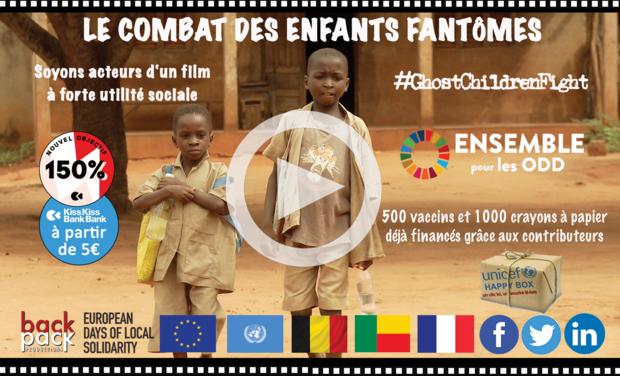 Visuel du projet Le Combat des Enfants Fantômes