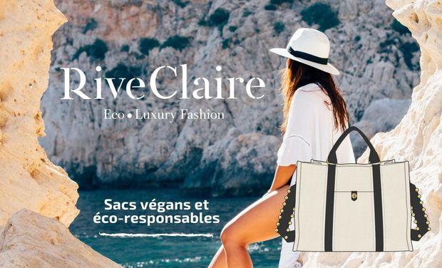 Visuel du projet Rive Claire® - Haute maroquinerie végane et éco-responsable