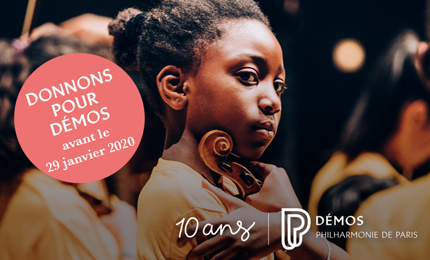 Project visual Donnons pour Démos - à chaque enfant son instrument