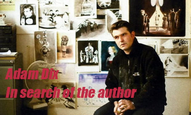 Visuel du projet Adam Dix :  In search of the author