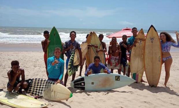 Visuel du projet Faites vivre le Clube Aquatique de sitio do Conde ( CASC) a Bahia au Brésil