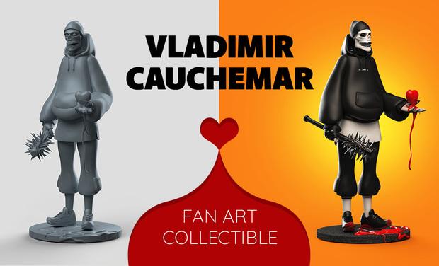 Project visual Vladimir Cauchemar Fan Art