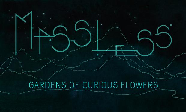"""Visuel du projet Sortie premier album de MASSLESS """" Gardens of curious flowers"""""""