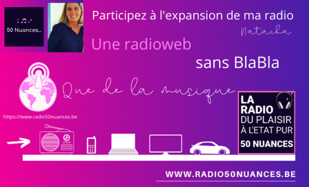 Visuel du projet Radio 50 nuances