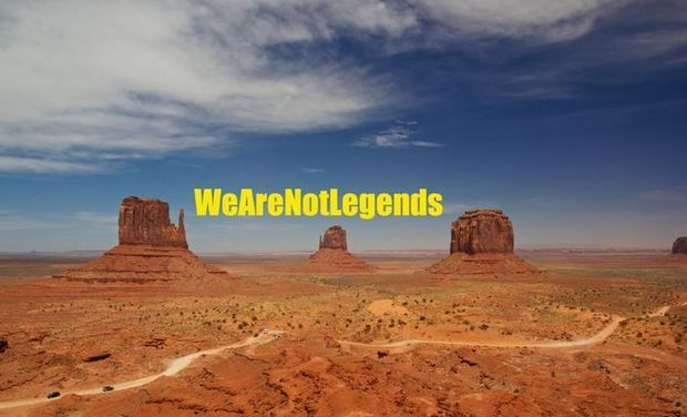 Visuel du projet We Are Not Legends