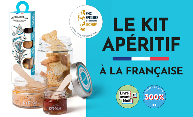 Project visual LE KIT APERITIF prêt-à-servir des épicuriens