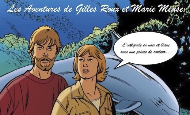 Visuel du projet Gilles Roux et Marie Meuse, l'intégrale en noir et blanc