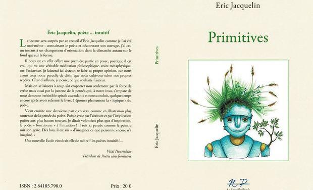 Visuel du projet Edition du livre Primitives de Eric Jacquelin