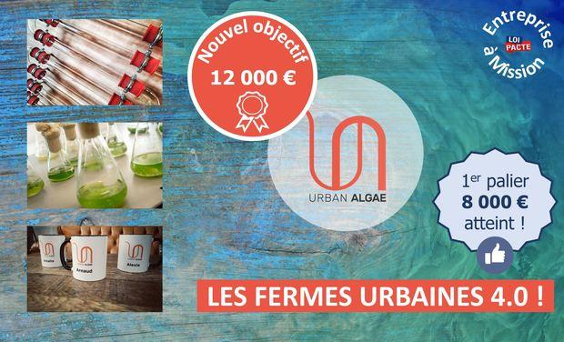 Project visual Urban Algae : using microalgae in urban farms to help depolluting
