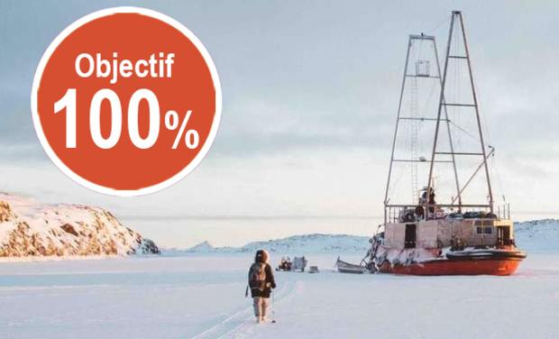 Visuel du projet Artistes en Arctique, un projet artistique dans un milieu extrême