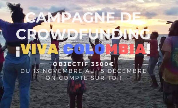 Visuel du projet Récolte de fonds pour une mission humanitaire en Colombie - BDH EM STRASBOURG