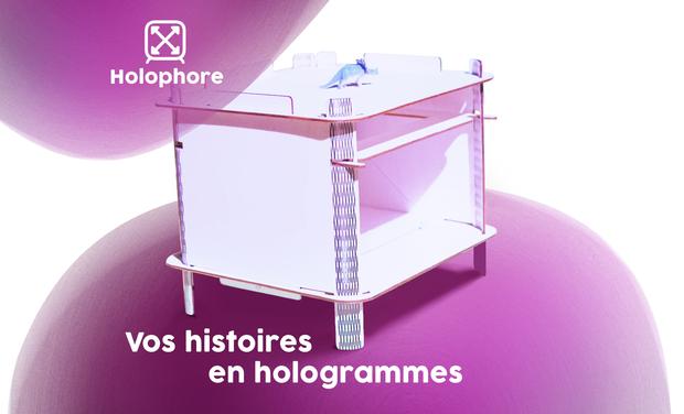 Project visual Holophore