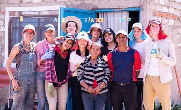 Visuel du projet Un toit pour mon pays TECHO