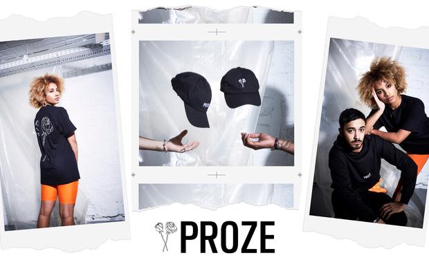 Visuel du projet Proze Studios, la marque française de streetwear minimaliste.
