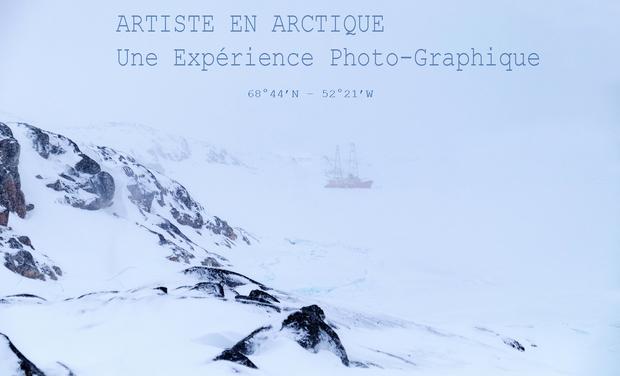 """Visuel du projet Expérience """"Photo-Graphique"""" au coeur de l'arctique, photo d'art et héliogravure"""