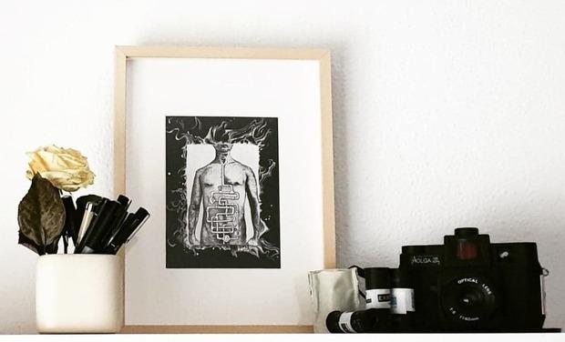 Visuel du projet En quête de lumière sur le handicap invisible : Illustrations et photos.