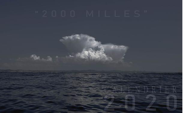 """Visueel van project """"2000 milles """" : Calendrier 2020 réunissant 13 photographies d'un long voyage"""