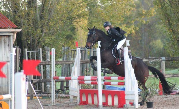 Visuel du projet Axelle BONNIN, à la poursuite d'un titre de championne de France d'Equitation