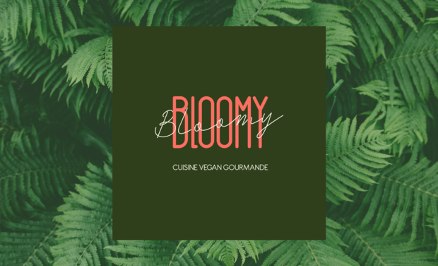 Project visual Bloomy Cuisine Vegan Gourmande