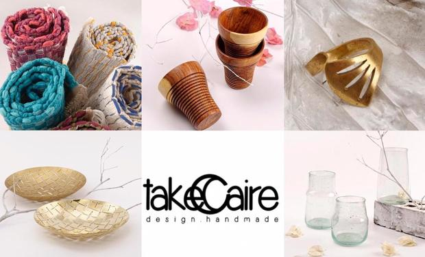 Project visual TakeCaire - Design Handmade
