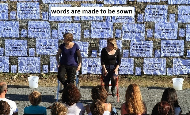 Visuel du projet Words are made to be sown
