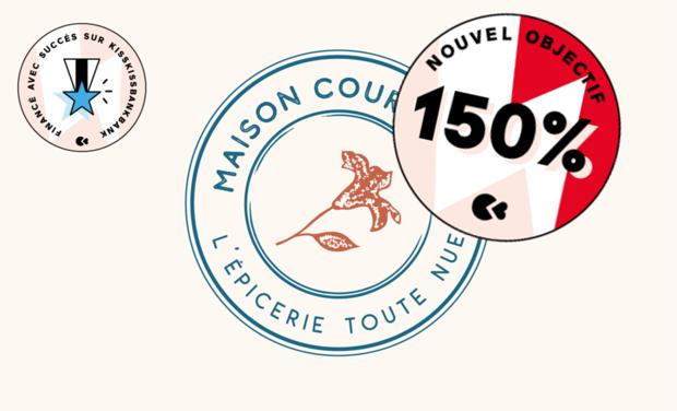 Project visual Maison Courgette, l'épicerie toute nue: à Lyon, en vrac, locale & conviviale!