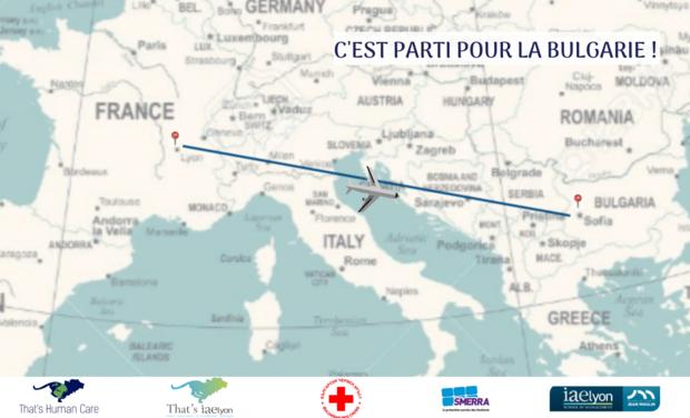 Visuel du projet That's Human Care II vient en aide aux réfugiés en Bulgarie