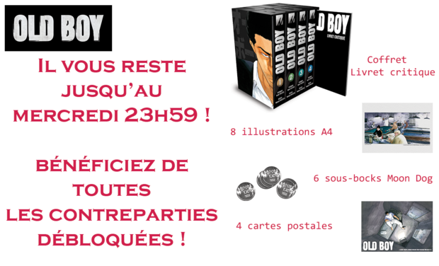 Visuel du projet Collection manga Old Boy