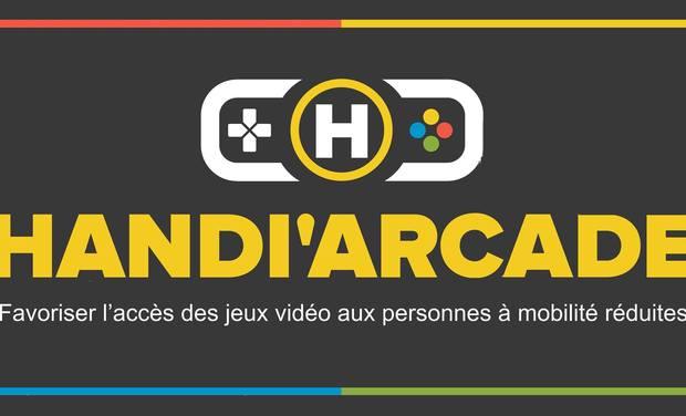 Visueel van project Handi'Arcade : accessibilité des jeux video