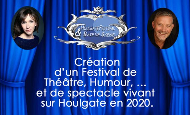 Visuel du projet Festival de Théâtre et spectacle vivant