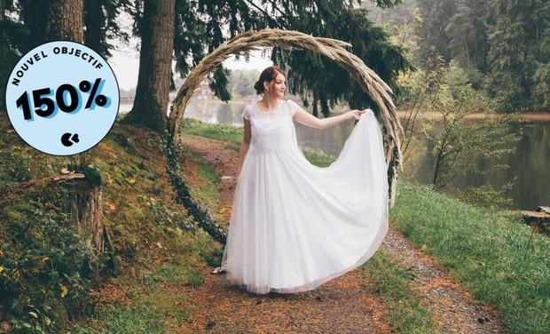 Project visual Aurélia Prado - Créatrice de Robes de mariées Ecoresponsables